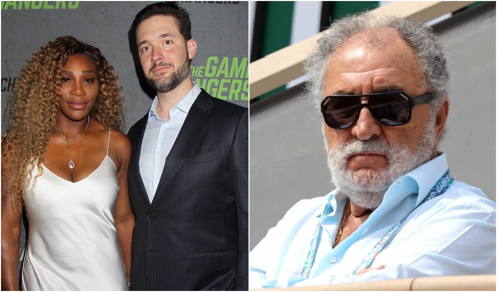 Alexis Ohanian, soțul Serenei Williams, o nouă replică la adresa lui Ion Țiriac