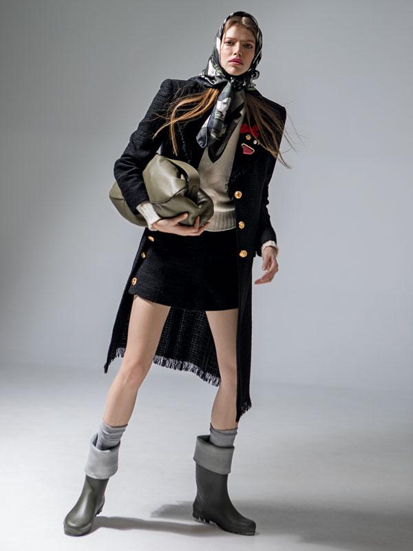 Editorial fashion: Miss Balmoral