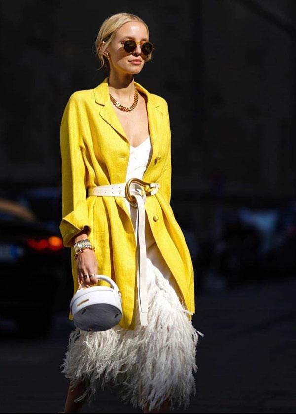 De ce să porți galben în mjlocul iernii?