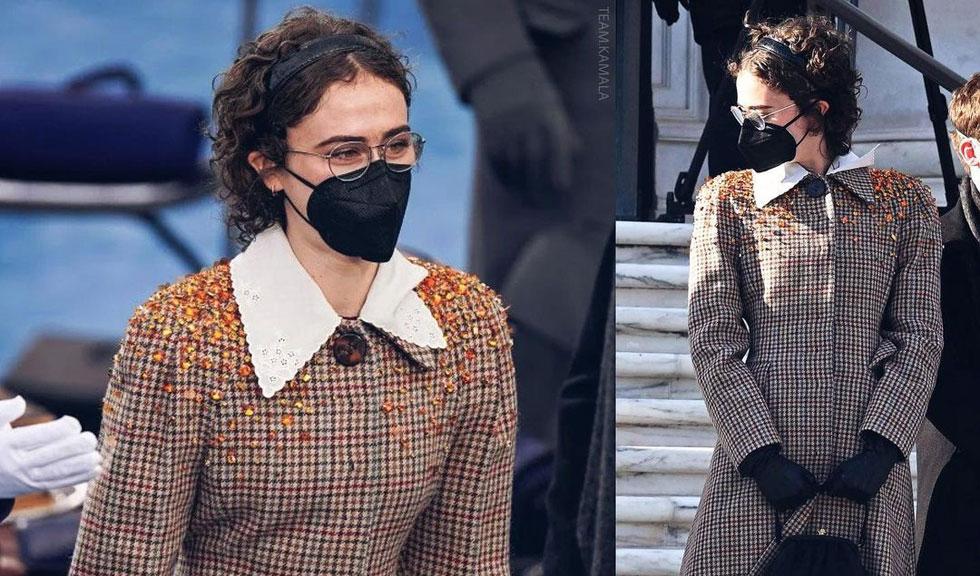 Ella Emhoff, fiica vitregă a Kamalei Harris, și-a făcut debutul la New York Fashion Week