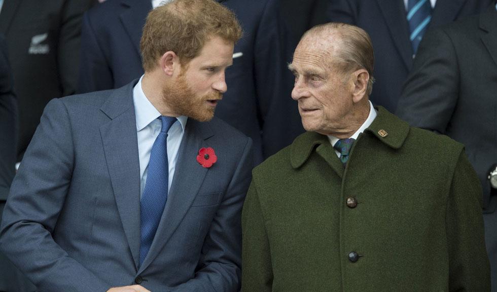 Ce decizie a luat Prințul Harry după ce bunicul său, Prințul Philip, a fost internat în spital