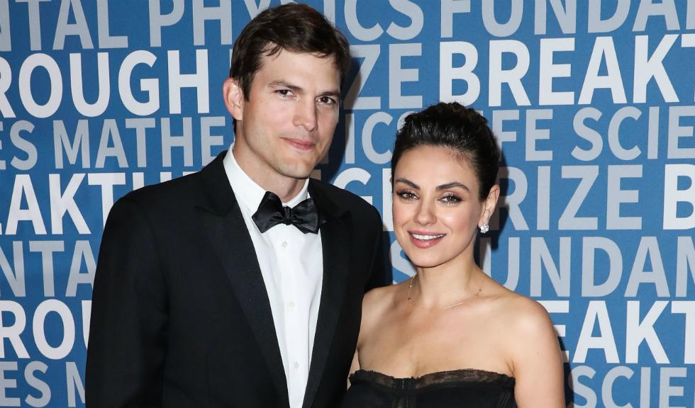 Ashton Kutcher și Mila Kunis, apariție rară alături de cei doi copii