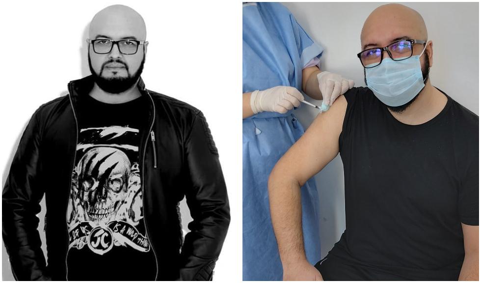 Mihai Budeanu de la 3 SUD EST s-a vaccinat împotriva coronavirusului. Mesajul transmis de artist