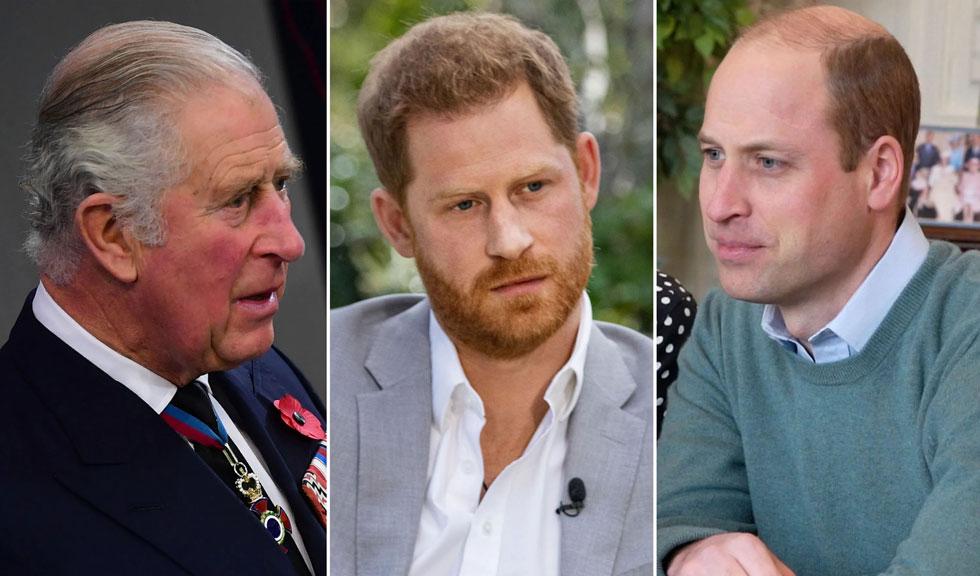 Prima discuție pe care Prințul Harry a avut-o cu fratele și cu tatăl său de la lansarea interviului controversat