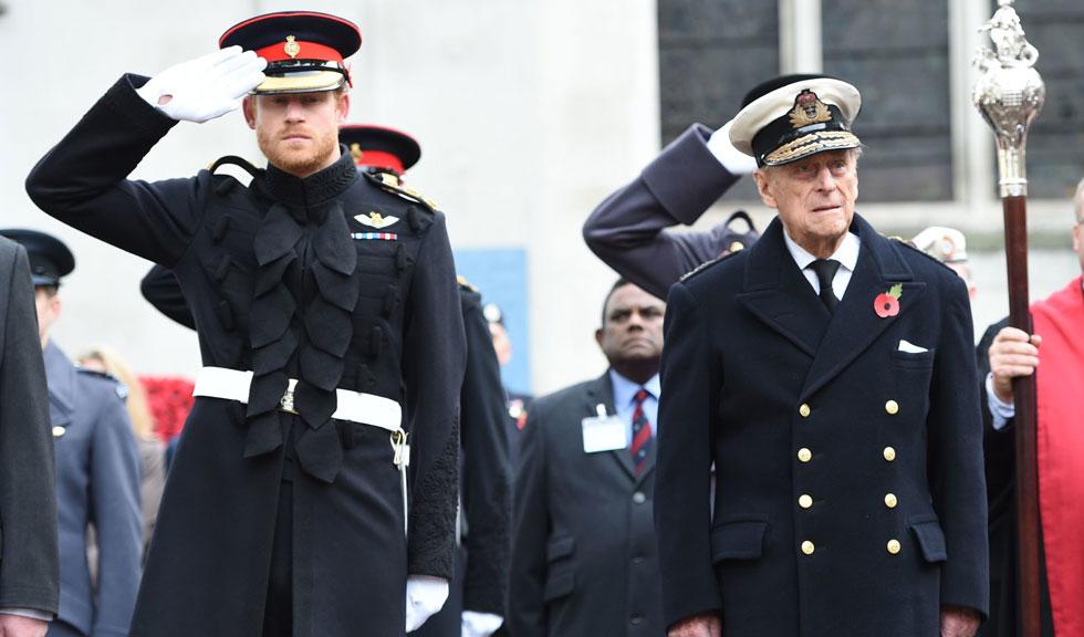 Prințul Harry s-a întors în Marea Britanie pentru a participa la înmormântarea bunicului său, Prințul Philip