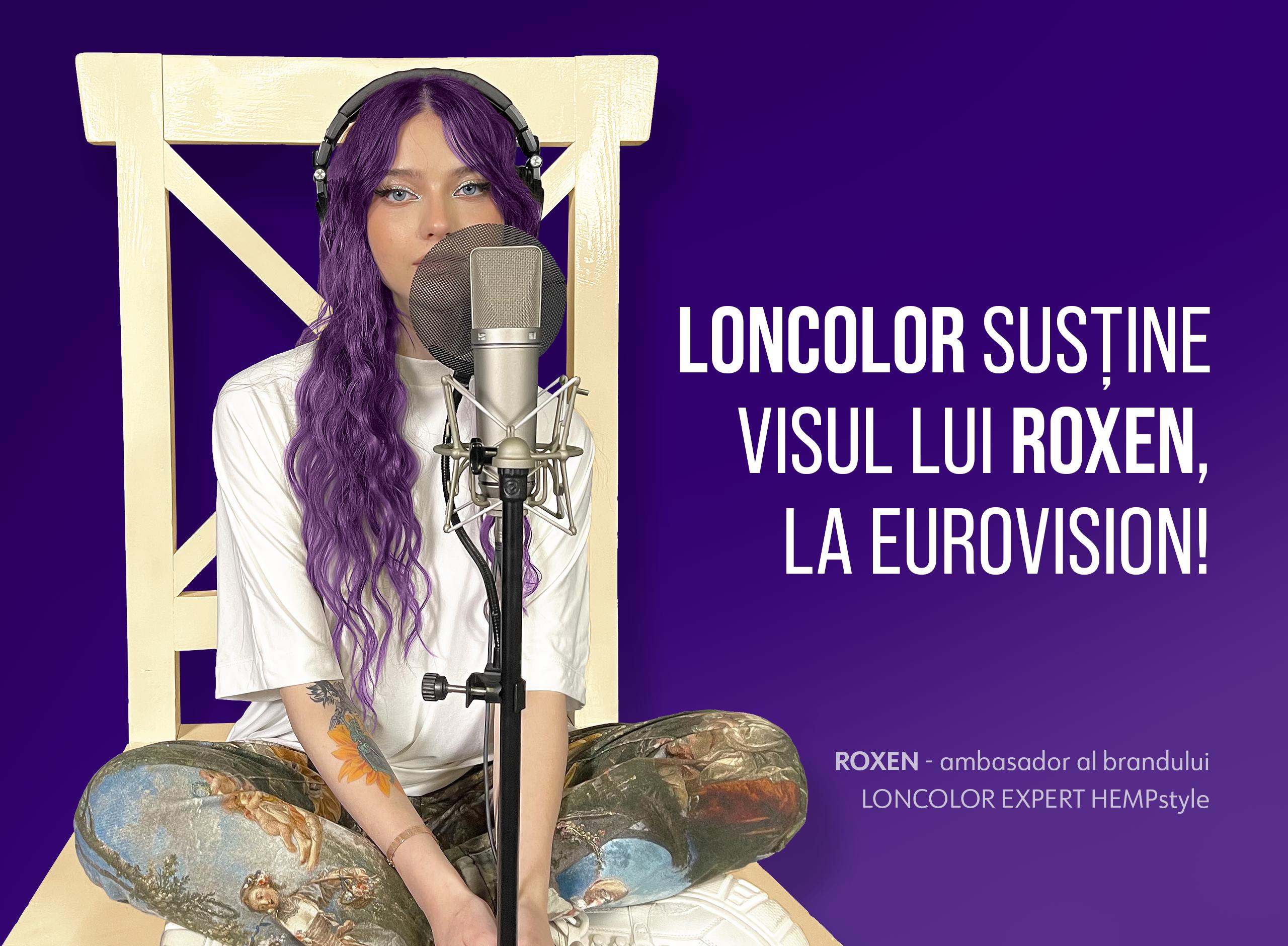 (P) LONCOLOR o susține pe ROXEN la Eurovision Song Contest 2021