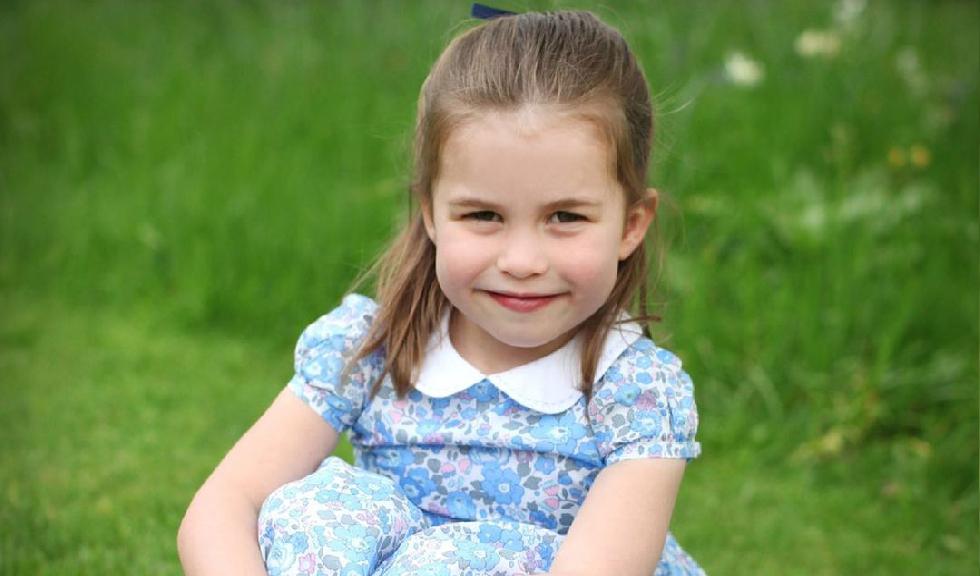 Fotografie inedită cu Prințesa Charlotte, publicată cu ocazia zilei sale de naștere