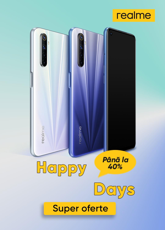 (P) realme anunță ofertele Happy Days