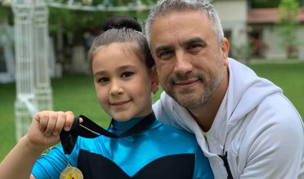 Fiica lui Zoli Toth, premiată cu aur la Campionatul Național de Gimnastică Ritmică