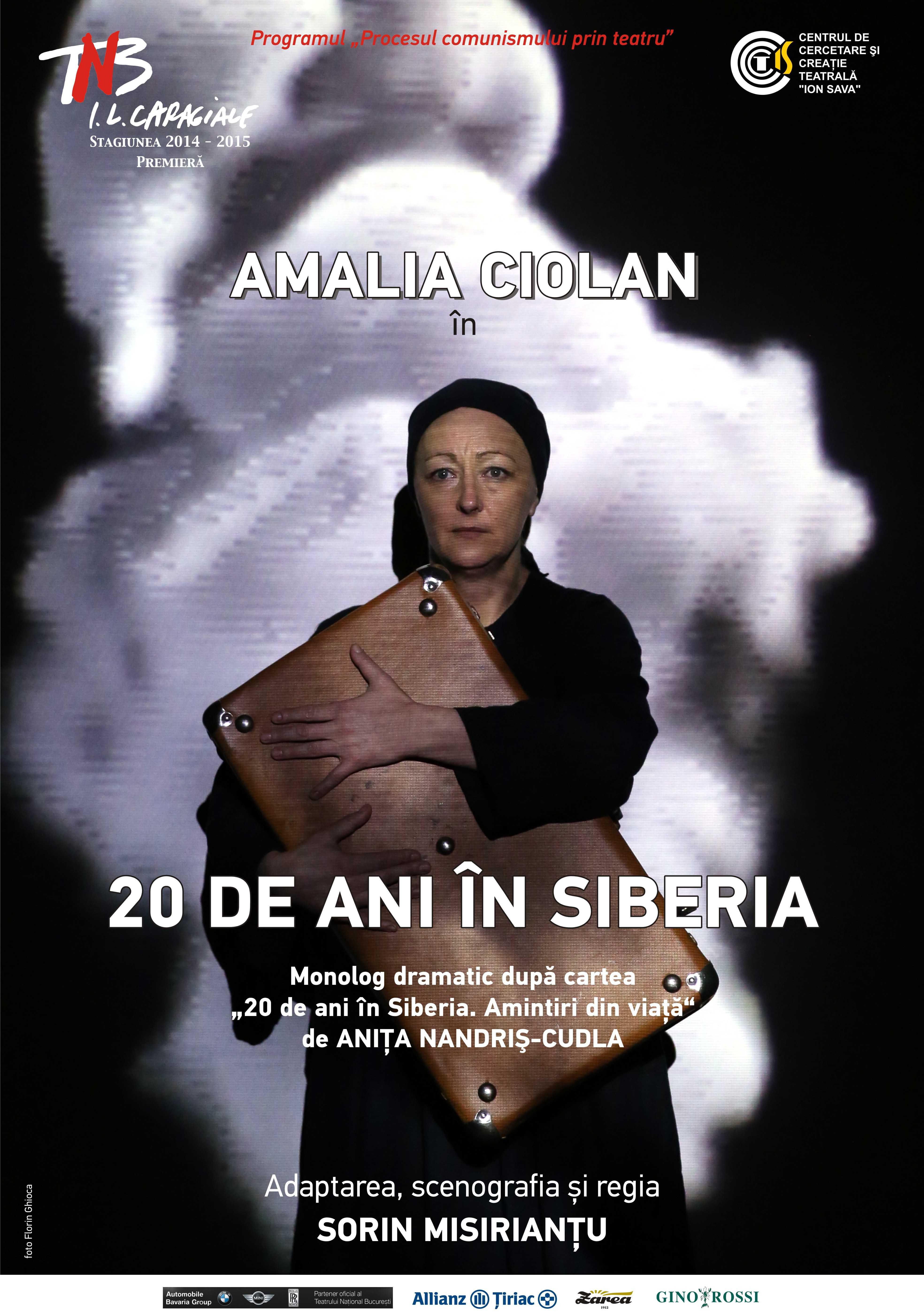 """(P) 20 de ani în Siberia"""", un spectacol despre destinul unei țărănci bucovinence"""