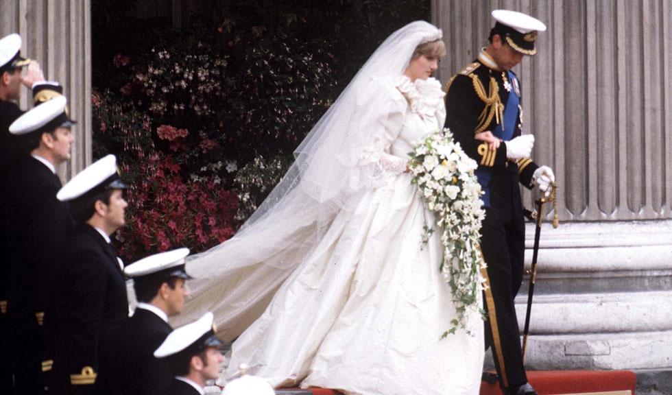 Cum arată a doua rochie de mireasă purtată de Prințesa Diana. Este roz și foarte chic