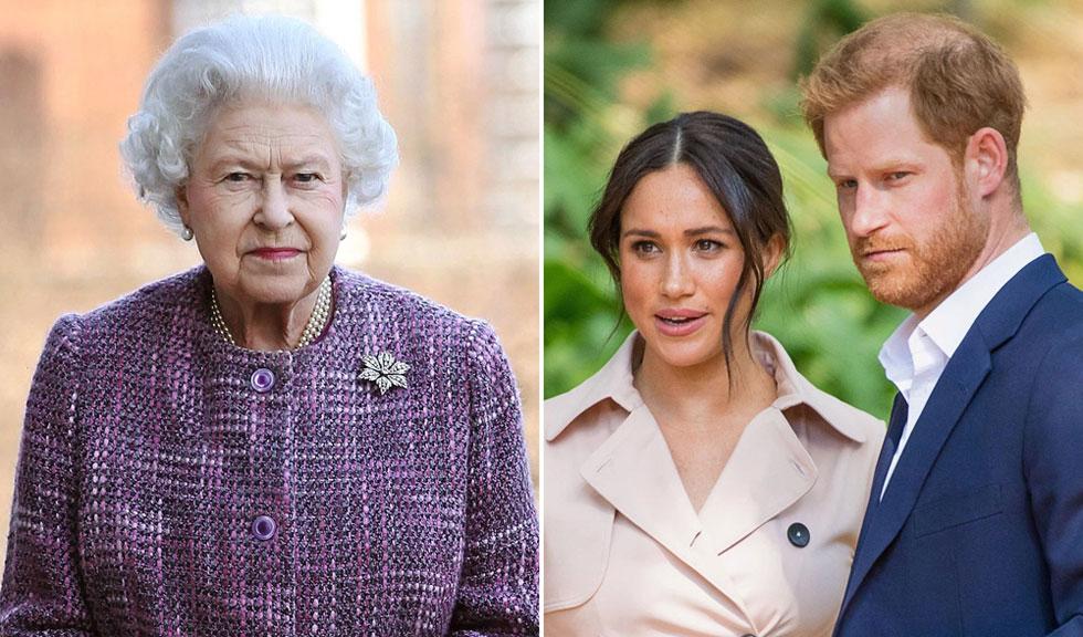 Gestul neașteptat făcut de Regina Elisabeta a II-a pentru Harry & Meghan