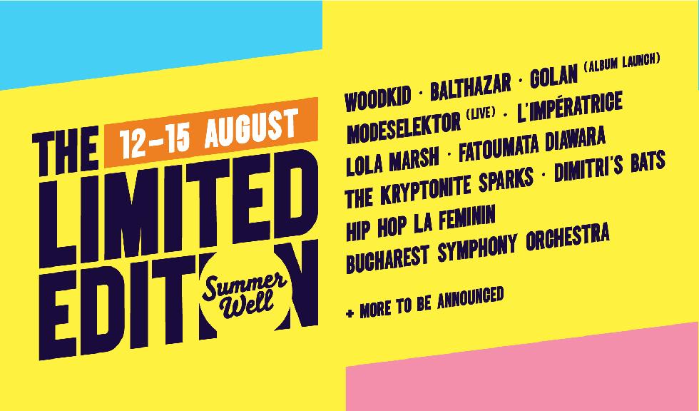 Summer Well: The Limited Edition are 4 zile de festival în 2021