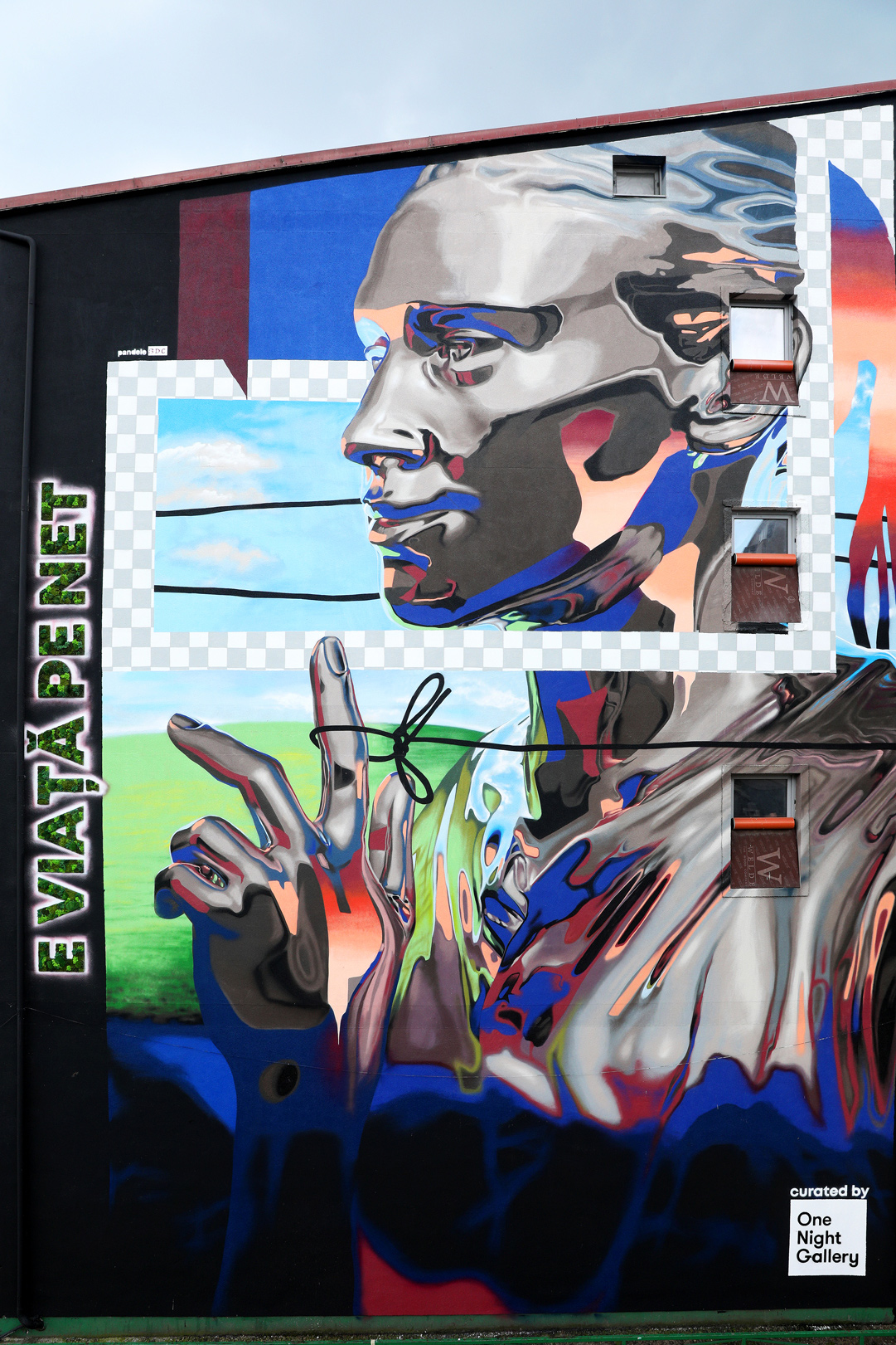E viață pe net, dar și pe zidurile orașului. Cum arată primul mural #rebelswithacause din București? (P)
