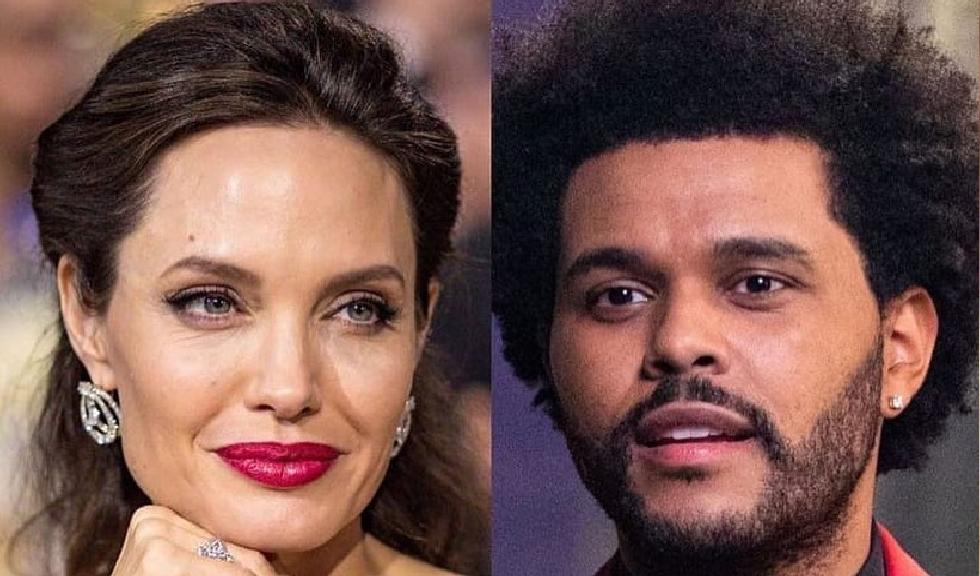 Angelina Jolie și The Weeknd au fost surprinși în Los Angeles