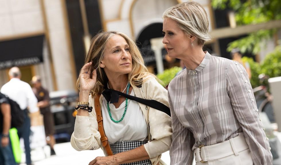 Cum arătau Sarah Jessica Parker și Cynthia Nixon când s-au întâlnit prima dată pe platourile de filmare