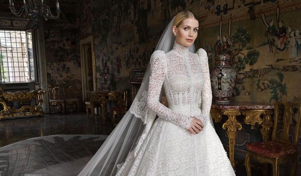 PRIMA IMAGINE cu Lady Kitty Spencer alături de soțul ei la fabuloasa nuntă din Italia