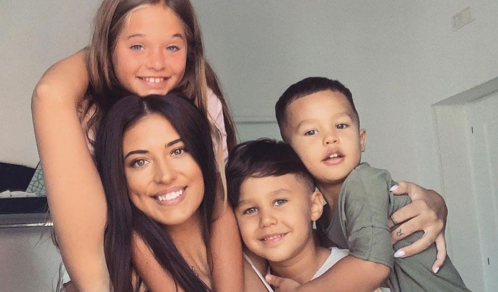 Motivul pentru care Antonia nu postează des imagini cu copiii ei pe rețelele sociale