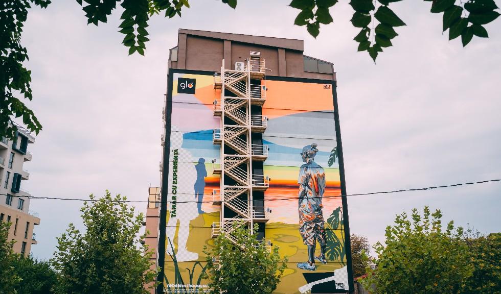 (P) Culoare și mesaj în București: două noi picturi murale din seria #glorebelswithacause se alătură galeriei urbane Eco Graffiti