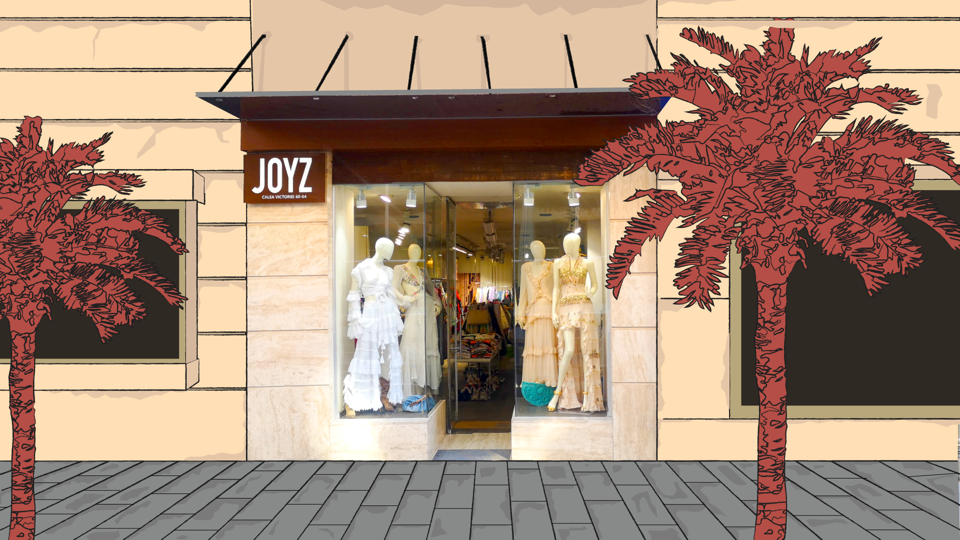 Magazinul-concept Joyz, acum si online
