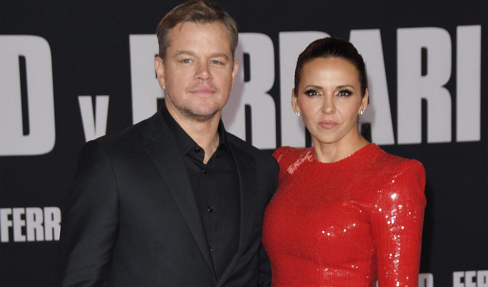 Matt Damon, apariție rară alături de fiicele sale, la cină în Malibu