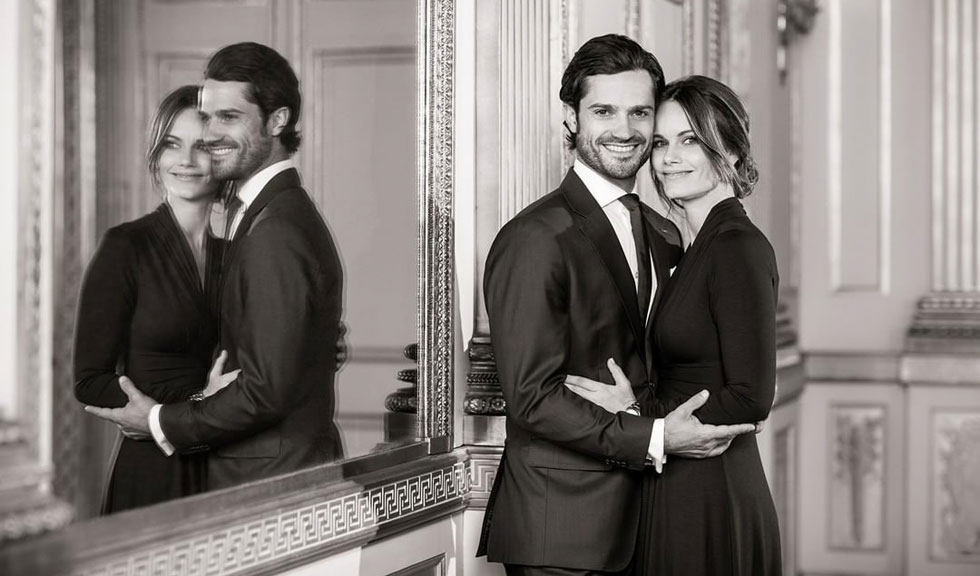 Cum arată portretele oficiale de familie de la botezul Prințului Julian al Suediei