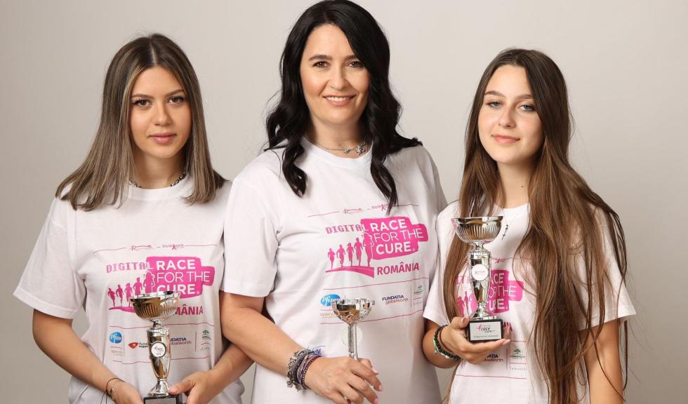 Fundatia Renasterea organizeaza Race for the Cure Romania editia a 7-a, pe 26 septembrie