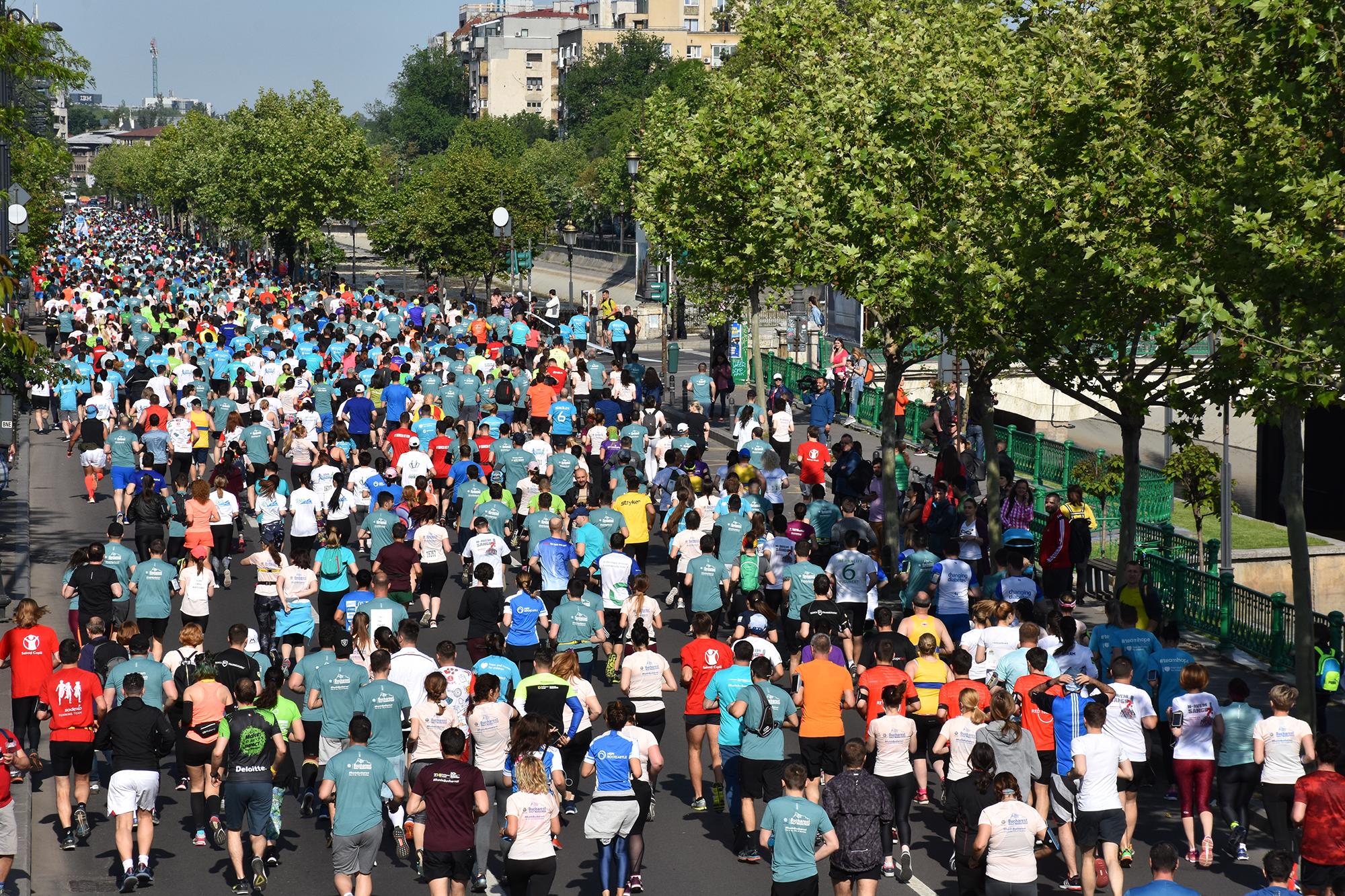 Restricționarea traficului rutier pe perioada derulării celei de-a 10-a ediții a Semimaratonului București