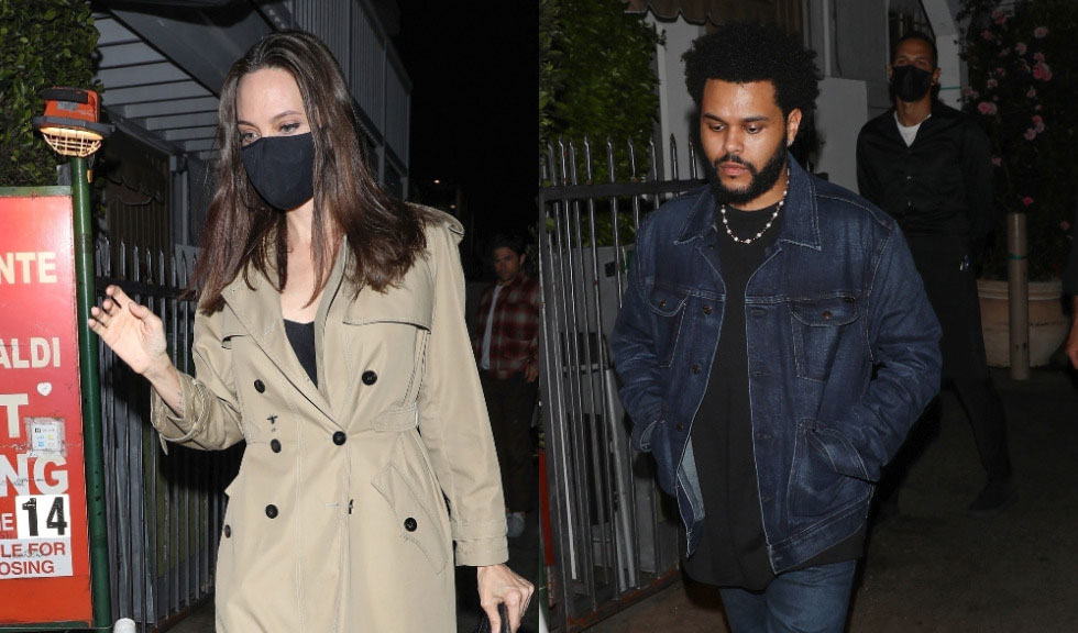 Adevărul despre relația dintre Angelina Jolie și The Weeknd a ieșit la iveală