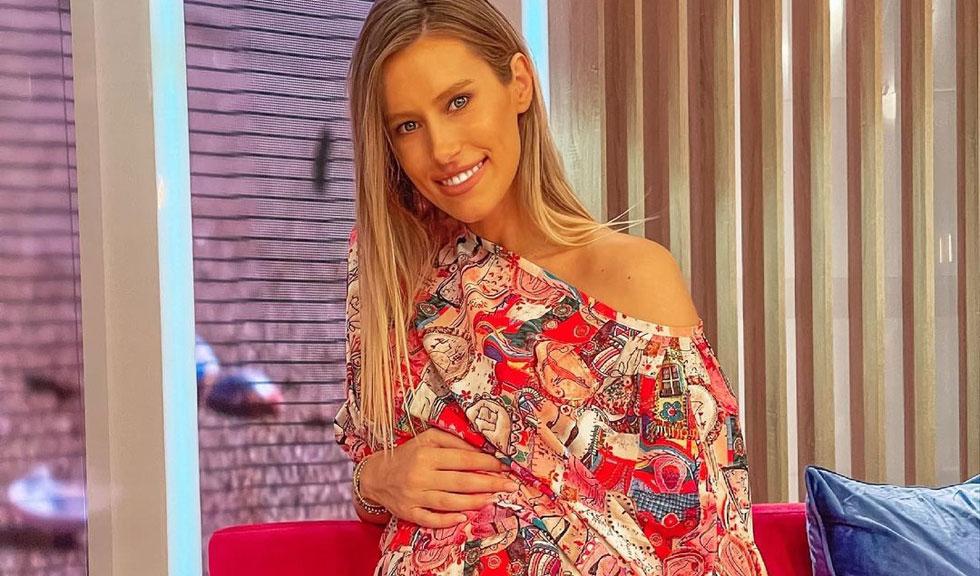 Gabriela Prisăcariu, soția lui Dani Oțil, face primele declarații după ce a devenit mamă
