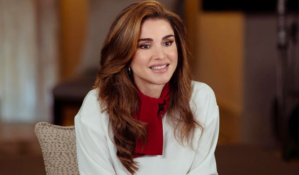 Regina Rania a Iordaniei a dezvăluit imagini inedite cu cele două fiice ale sale