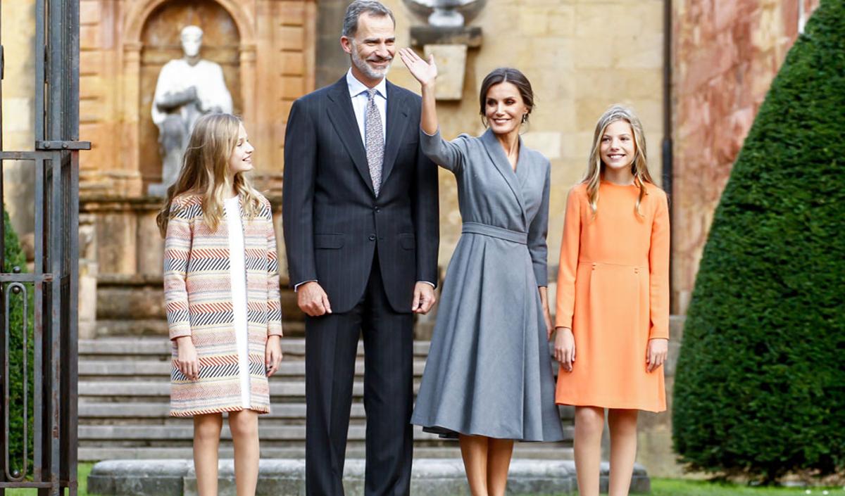 Prințesa Sofia a Spaniei, apariție elegantă alături de părinții ei, Regele Felipe și Regina Letizia